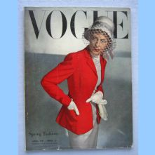 Vogue Magazine - 1947 - April